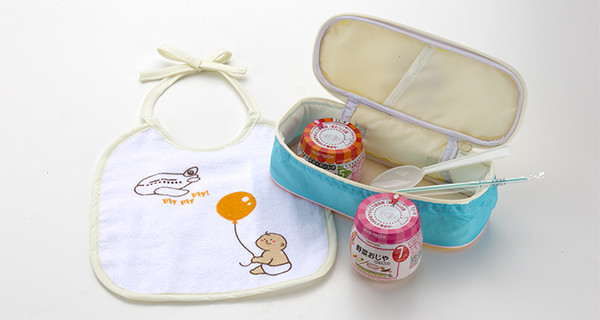赤ちゃん用の機内食(ベビーミール)